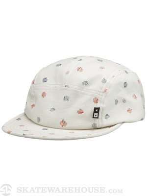 Fourstar Anderson 5 Panel Hat Ecru Adjust