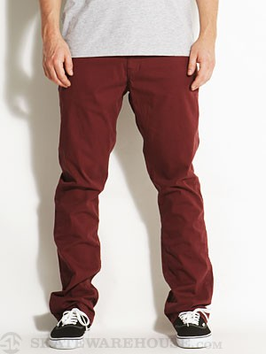 Fourstar Anderson Straight Slim Pants Brick 28