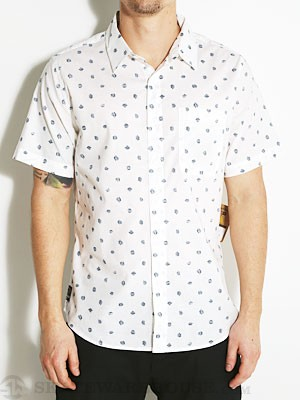 Fourstar Anderson S/S Woven Shirt White MD