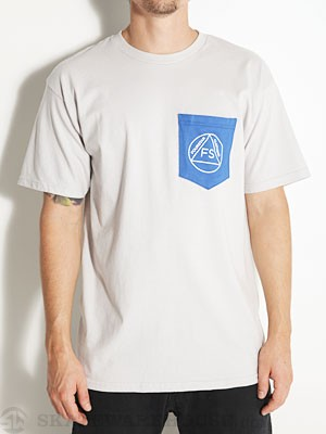 Fourstar Anonymous Pocket Tee Silver SM