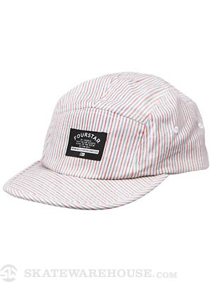 Fourstar Brophy 5-Panel Hat Hickory Adjust