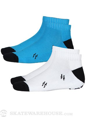 Fourstar BA Bolts Lo Socks 2 Pack Assorted