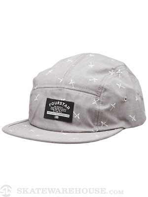 Fourstar Anderson Camper Hat Brown Adjust