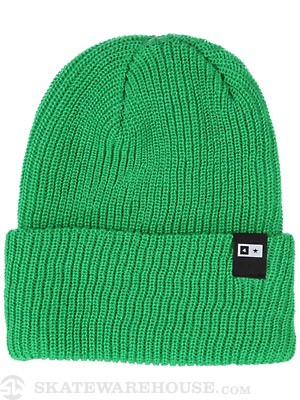 Fourstar Bar Label Fold Beanie Kelly Green