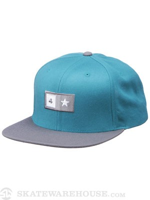 Fourstar Bar Starter Hat Aqua Adjust