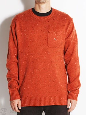 Fourstar Confetti Crew Sweater Red MD