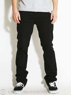 Fourstar Collective Straight Slim Jeans Black 34