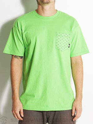 Fourstar Collective Pocket Tee Green MD