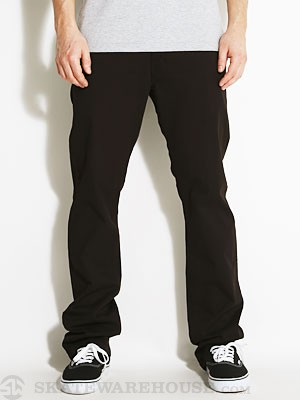 4Star Collective Straight Slim Chinos Black 28