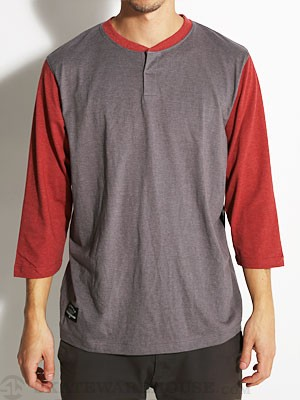 Cottonwood 3/4 Sleeve Knit Shirt Burgundy SM