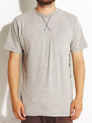 Fourstar Gaviota Crew Knit Shirt Heather Grey MD