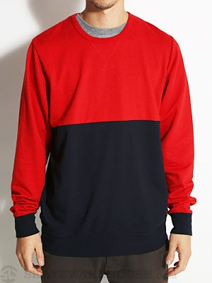 Fourstar Ishod Crew Sweatshirt Red MD