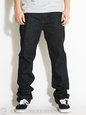 Fourstar Ishod Straight Slim Jeans  Dark Indigo