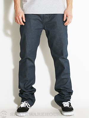 Fourstar Ishod Straight Slim Jeans Blue Slate 28