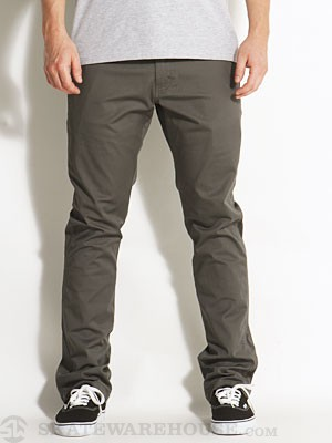 Fourstar Koston Straight Slim Chinos Charcoal 28