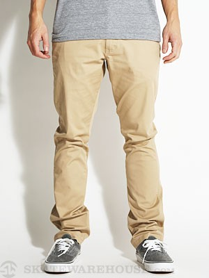 Fourstar Koston Straight Slim Pants Khaki 28
