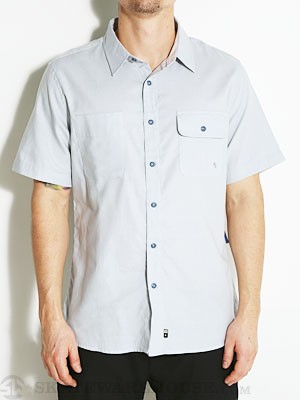 Fourstar Malto S/S Woven Shirt Blue MD