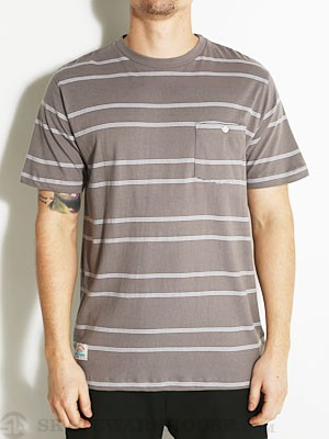 Fourstar Malto Knit S/S Shirt Grey SM