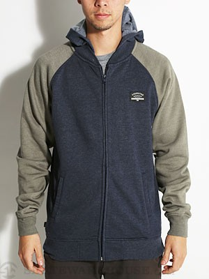 Fourstar Malto Hoodzip Heather Navy SM