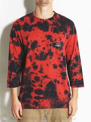 Fourstar Marin 3/4 Sleeve Knit Shirt Red MD