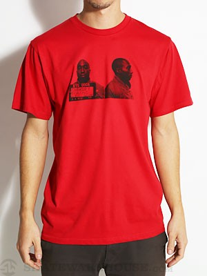 Fourstar Mugshots Tee Red SM