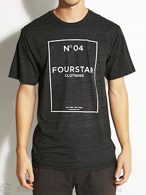 Fourstar No. 04 Tee Black SM