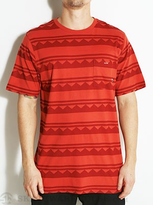 Fourstar Norman Knit S/S Shirt Red MD