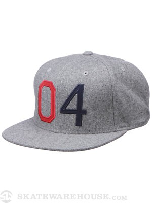 Fourstar Octin Starter Hat Heather Grey Adj.