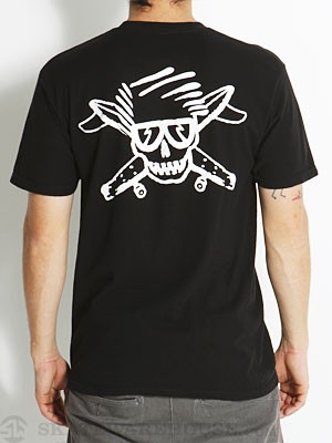 Fourstar Bros. Marshall Pirate Head Tee Black XL