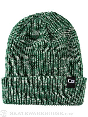 Fourstar Slub Bar Fold Beanie Green One Size
