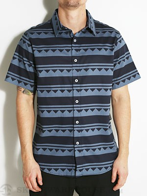 Fourstar Stillwater S/S Woven Shirt Navy SM