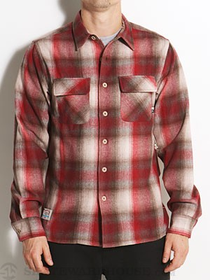 Fourstar Trujillo Flannel Shirt Red SM