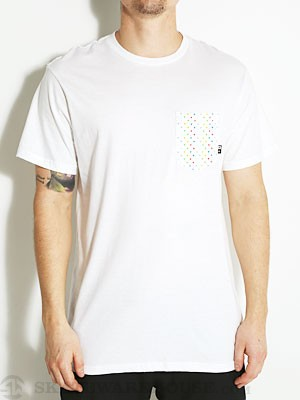 Fourstar Triangle Pocket Tee White SM