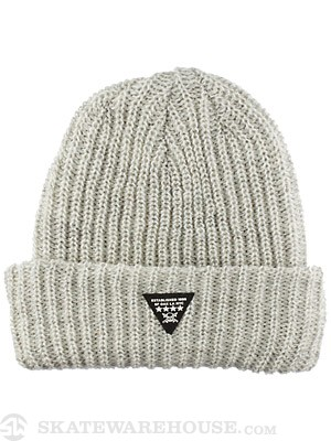 Fourstar Triad Fold Beanie Grey