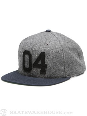Fourstar Wool Felt 04 Starter Hat Navy/Black