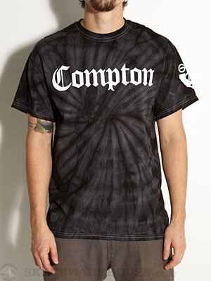 Gold Wheels Groovy Compton Tee Black SM