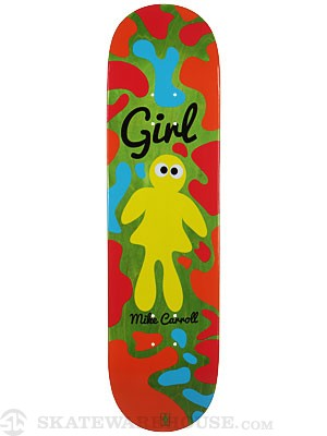 Girl Carroll Googly Deck  8.125 x 31.63