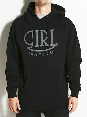 Girl Fleetwood Hoodie Black MD