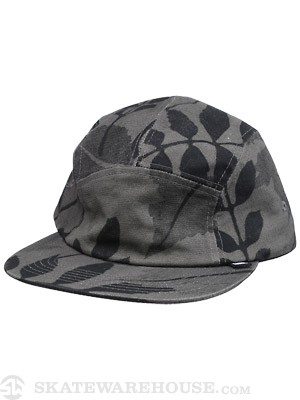 Girl Foliage Camper Hat Black