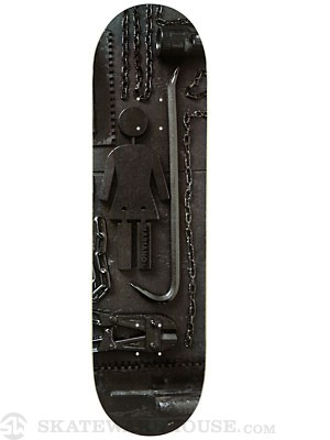 Girl Mariano Paint It Black Deck  8.375 x 31.9
