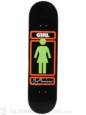 Girl Mariano Sign Here Deck  8.125 x 31.3