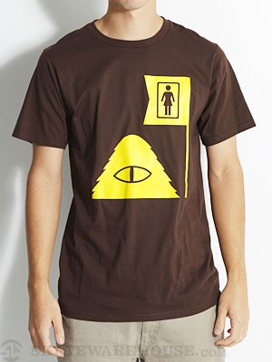 Girl x Poler Premium Tee Brown LG