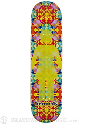 Girl Kennedy Kaleidoskate Deck  7.75 x 31