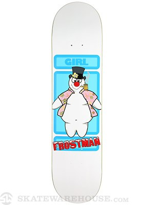 Girl Koston Snowman Deck  7.75 x 31.13