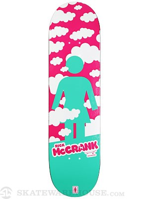 Girl McCrank Crail Clouds Deck  8.375 x 31.63