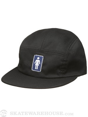 Girl OG Camper Hat Black