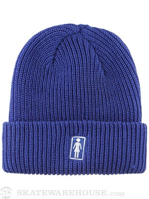 Girl OG Fold Beanie Royal
