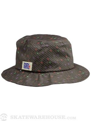 Girl Oh G's Bucket Hat Army LG/XL