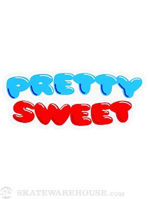 Girl Pretty Sweet Sticker