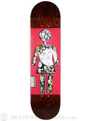 Girl McCrank On Exhibit Deck 8.0 x 31.63